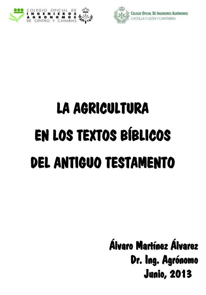 La agricultura en los textos biblicos del AT